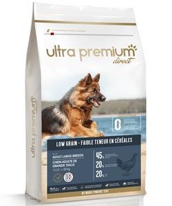 Ultra Premium : Croquettes pour chiens à faible teneur en céréales
