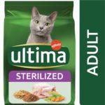 Croquettes Ultima pour chat adulte stérilisé
