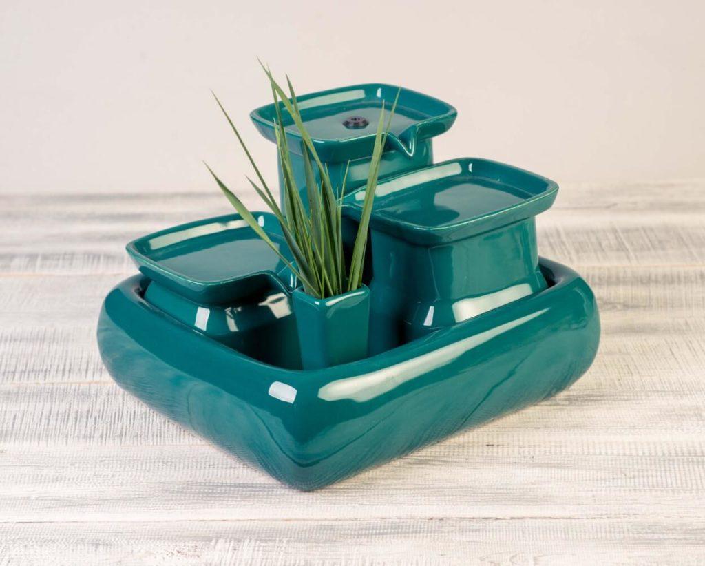 Fontaine à eau pour chats Miaustore - Emeraude