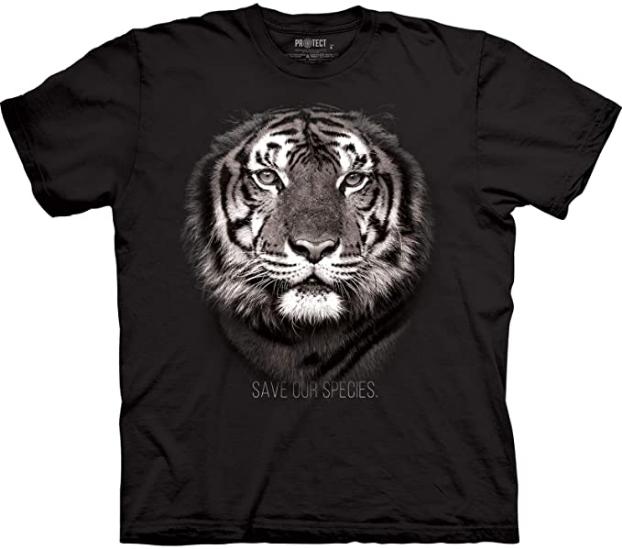 T-shirt Tigre royal du Bengale de la marque The Mountain