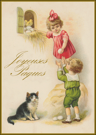Cartes postales en ligne Pâques