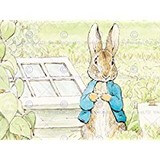 Poster Affiche Animaux Lapin Pierre Beatrix Potter
