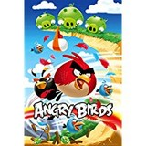 Poster Affiche Animaux Oiseaux Angry Birds