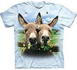 T-shirts Animaux Anes