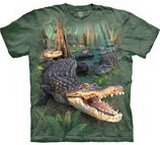 T-shirts Animaux Crocodile Parade