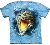 T-shirts Animaux Crocodile Gueule