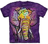T-shirts Animaux Eléphant Dessin Russo