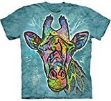 T-shirts Animaux Girafe Dessin Russo