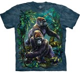 T-shirts Animaux Gorilles jungle