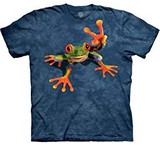T-shirts Animaux Grenouille