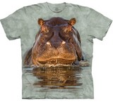 T-shirts Animaux Hippopotame