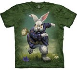 T-shirts Animaux Lapin blanc Alice Pays Merveilles