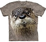 T-shirts Animaux Loutre