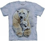 T-shirts Animaux Ours blancs