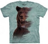 T-shirts Animaux Ours brun