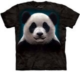 T-shirts Animaux Ours Panda Tête