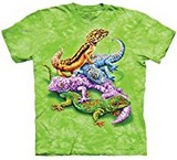 T-shirts Animaux Reptiles Geckos