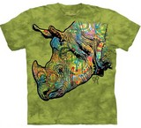 T-shirts Animaux Rhinocéros Russo