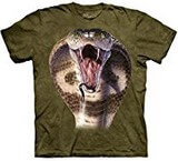 T-shirts Animaux Serpent Cobra