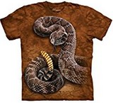 T-shirts Animaux Serpent sonnette