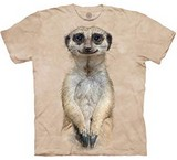 T-shirts Animaux Suricate
