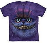T-shirts Animaux Chat Cheshire cat