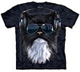 T-shirts Animaux Chat cool lunettes