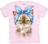 T-shirts Animaux Chat Coquette