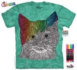 T-shirts Animaux Chat Dessin Coloriage