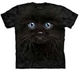 T-shirts Animaux Chat noir