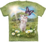 T-shirts Animaux Chat Rêves