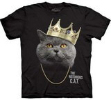 T-shirts Animaux Chat Chartreux Roi