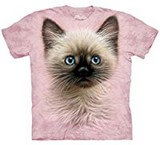 T-shirts Animaux Chat siamois