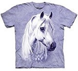 T-shirts Animaux Cheval blanc