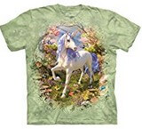T-shirts Animaux Cheval Licorne Forêt