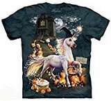 T-shirts Animaux Cheval Licorne Halloween