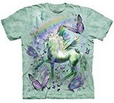 T-shirts Animaux Cheval Licorne Papillons