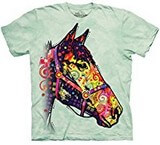 T-shirts Animaux Chevaux Couleurs