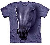 T-shirts Animaux Cheval Tête