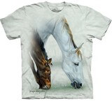 T-shirts Animaux Chevaux Duo
