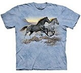 T-shirts Animaux Chevaux