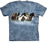 T-shirts Animaux Chevaux sauvages
