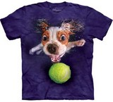 T-shirts Animaux Chien Balle