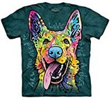T-shirts Animaux Chien Berger allemand