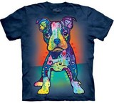 T-shirts Animaux Chien Bouledogue Russo