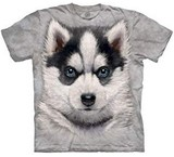 T-shirts Animaux Chien Chiot Husky