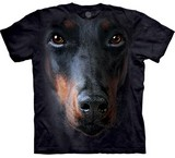 T-shirts Animaux Chien Doberman