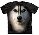 T-shirts Animaux Chien Husky