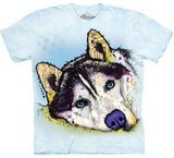 T-shirts Animaux Chien Siberian Husky