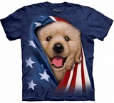 T-shirts Animaux Chien USA